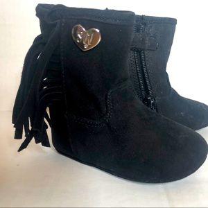 Stuart weitzman baby fringe boots
